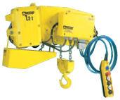 "Ultra Low Headroom Hoists ""HPRE"""