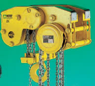 "ULTRA LOW HEADROOM HOISTS ""HPR"""